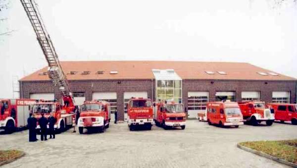 """Neues Gerätehaus """"Westmoor 2 a"""" von 1998"""