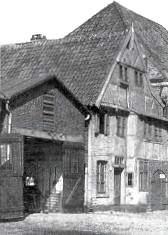 """Gerätehaus """"Bei der Kirche"""" aus dem Jahre 1926"""